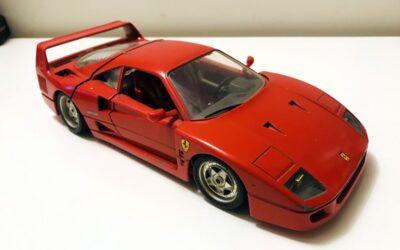 Todo tiempo pasado fue anterior: Mi Ferrari F40