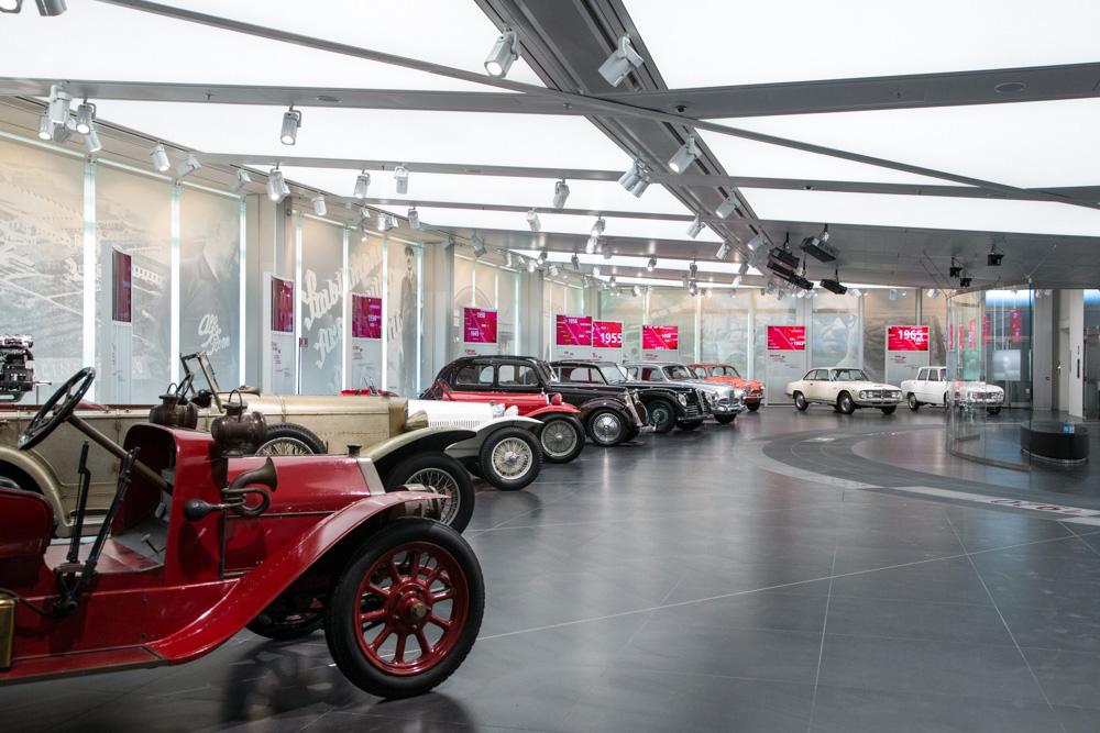 Museo Alfa Romeo di Arese, ristrutturazione