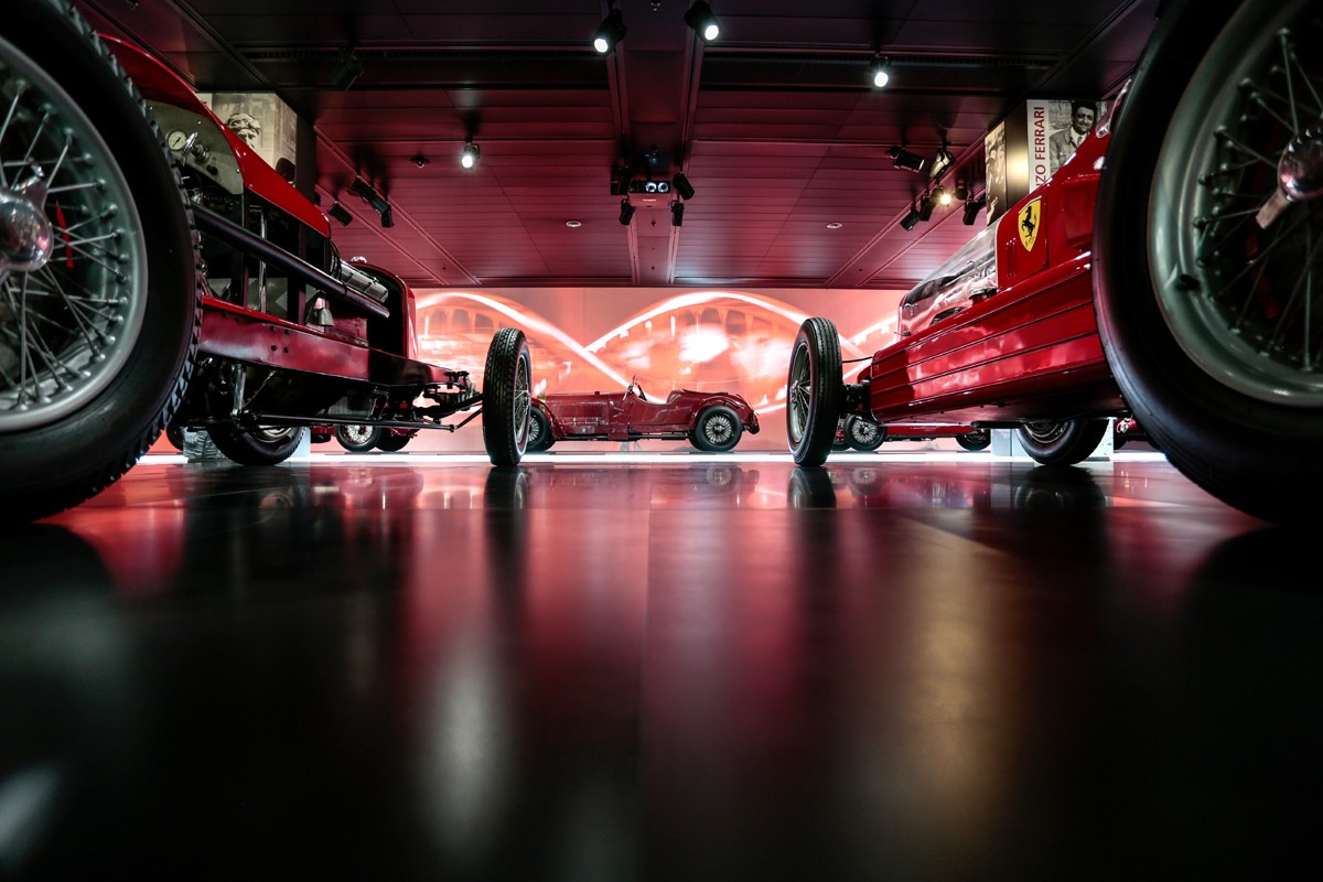 Alfa Romeo Museum - Speed Section