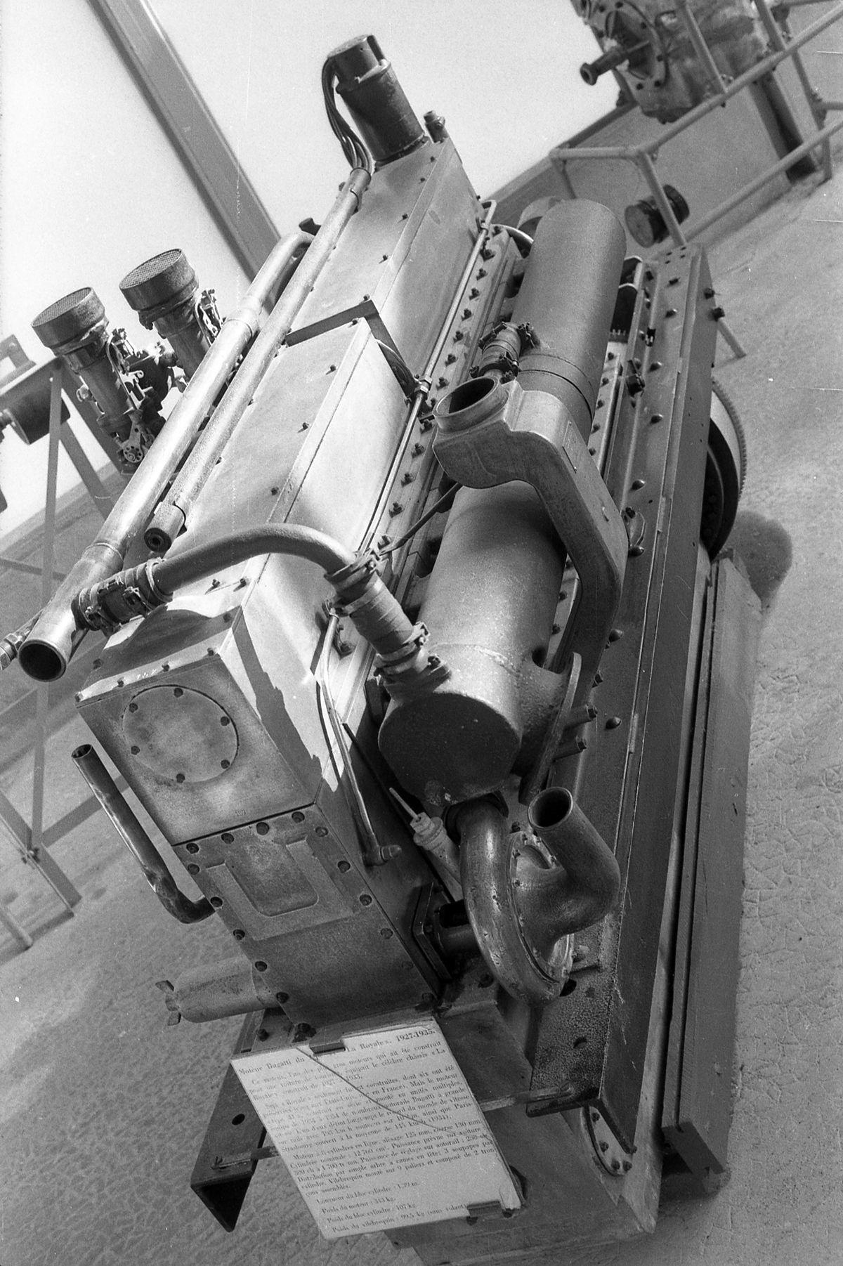Bugatti Royale motor II