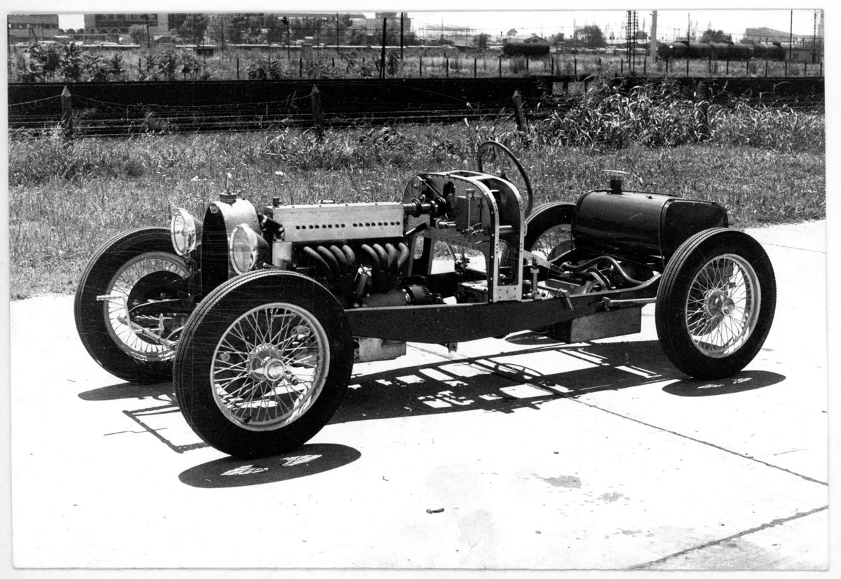 Bugatti Type 35 desnuda perfil_Argentina