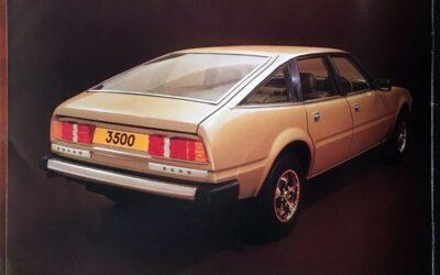 Todo tiempo pasado fue anterior: el Rover 3500