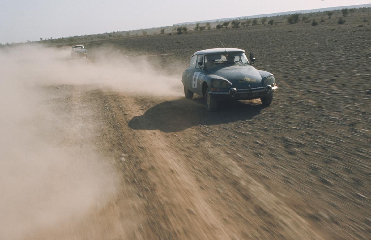 DS impegnate nel Rally del Marocco 1969 - foto 1