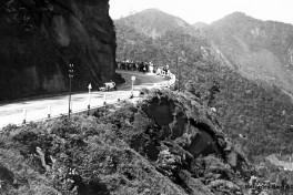 Großer Bergpreis von Brasilien, 28.02.1932. Hans Stuck mit einem Mercedes-Benz Typ SSKL. Stuck gewinnt das Bergrennen in neuer Streckenrekordzeit.