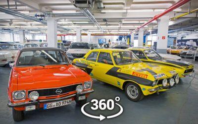 Opel Classic ofrece visitas virtuales a su historia