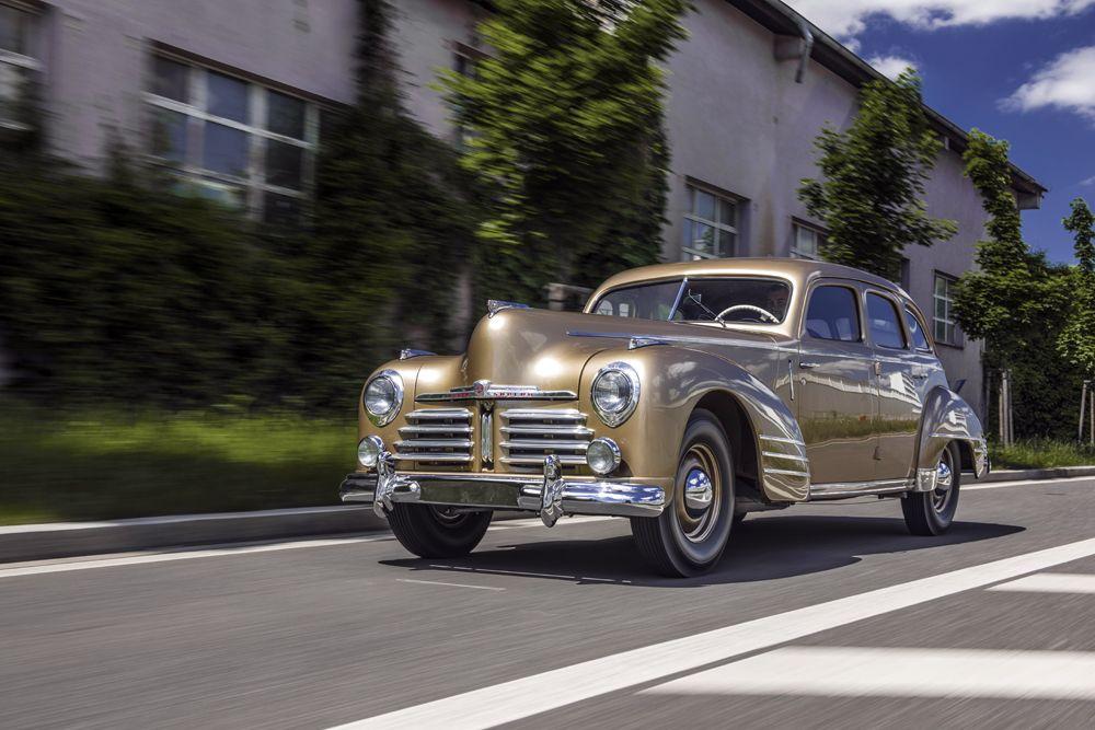 El Museo Skoda exhibe un Superb OHV de 1948 recién restaurado