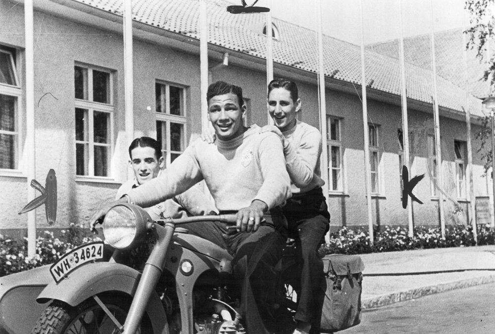 Berlín 1936: de paseo olímpico con boxeadores argentinos