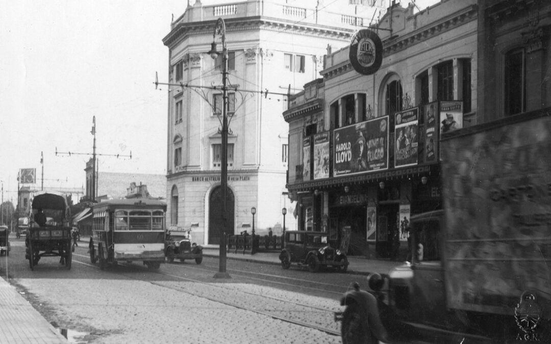 Corrientes y Malabia en 1930