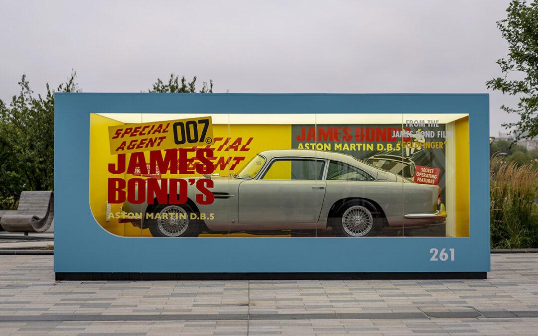 El Aston Martin de James Bond hecho por Corgi cobró vida