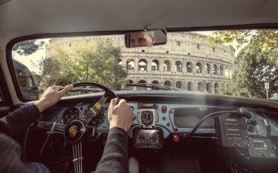 Un paseo por Roma y la historia en el Porsche 356 V2